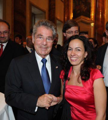 2011 - Mag. Sevgi Uluköylü, Dolmetscherin des Herrn Bundespräsidenten Dr. Heinz Fischer