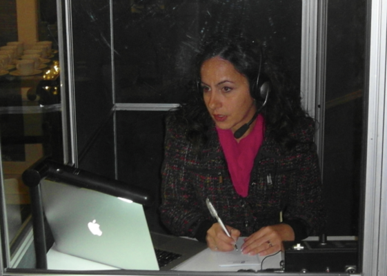 Since 2008 simultaneous and consecutive interpreting at conferences