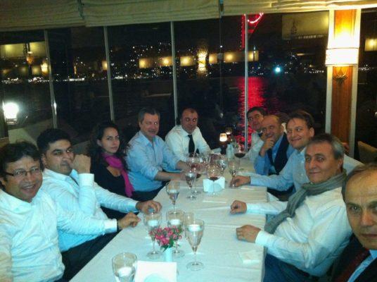 2013 - Konsekutivdolmetschen beim Abendessen am Bosporus