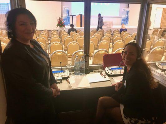 2019 - Simultandolmetschen Deutsch < > Türkisch in Salzburg